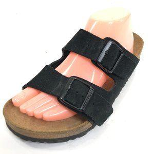 BIRKENSTOCK Arizona 11 Black Sandals Suede